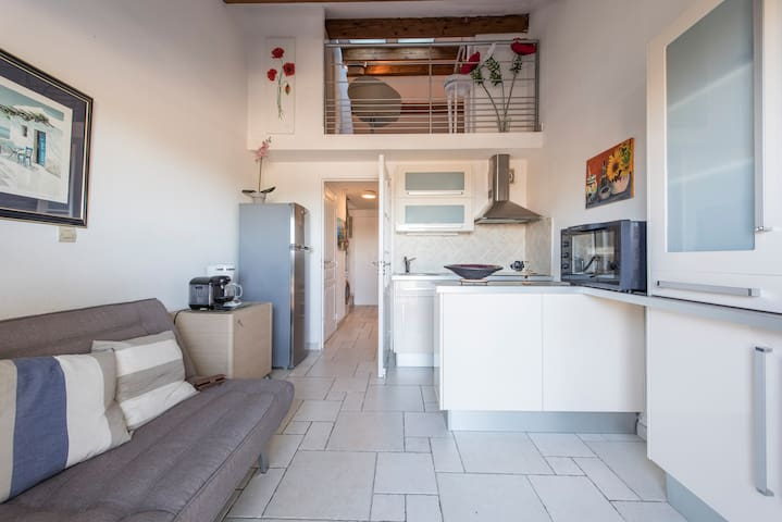 Bel appartement face mer Ste Maxime