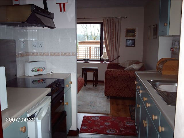 Netheryett Cottage with river views and fishing - Haugh of Urr - Holiday home