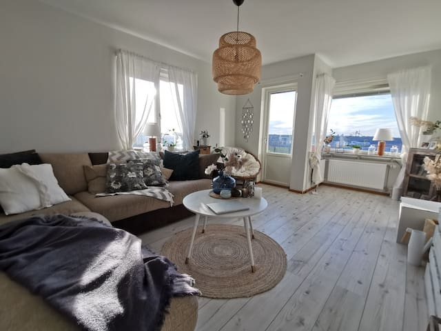 Apartment with a balcony(25 min from city)