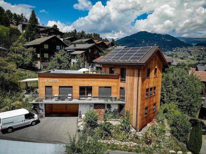 Casa mit 4+ (5)Bettzimmer, gr. Wohnraum, Gastküche