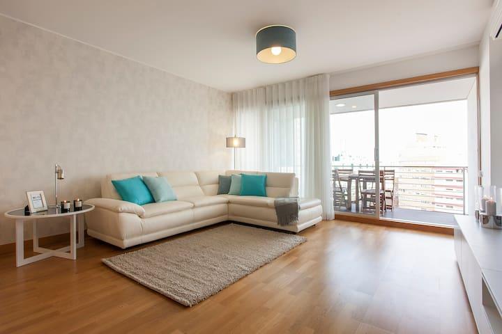 Luxury Penthouse w spacious balcony - Lisboa - Leilighet