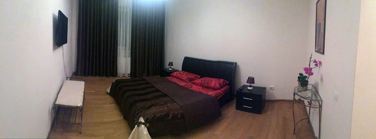 Двокімнатна квартира у центрі міста - Kolomyia - Huis