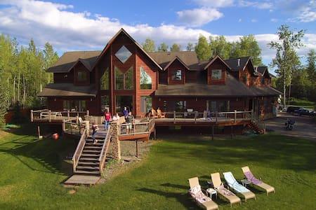 """Lake Front Luxury- """"Hannah's Room"""" - Big Lake - Talo"""
