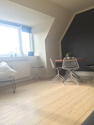 Bright and lovely apartment with free parkering