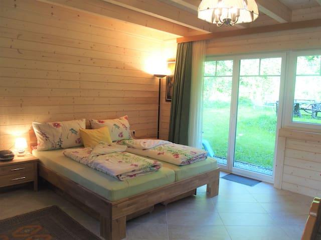 Appartement au bord de la forêt à Eichenberg