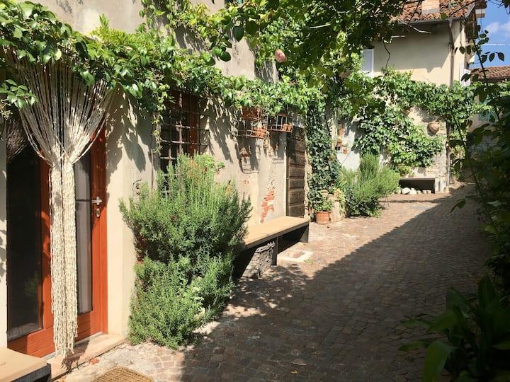 Zuhause im Piemont sehr speziell, sehr authentisch