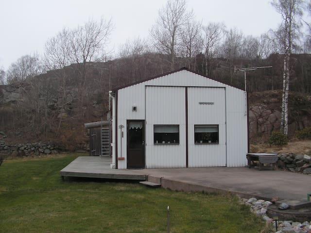 Båthuset i Vinbräcka - Brastad