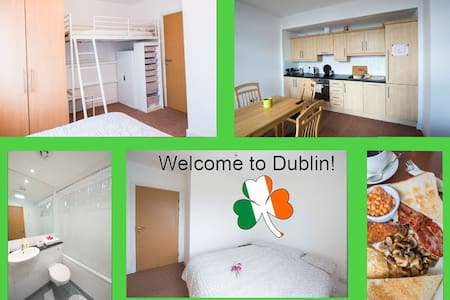 Real apartment regular buses to City Centre 20 min - Ballymun
