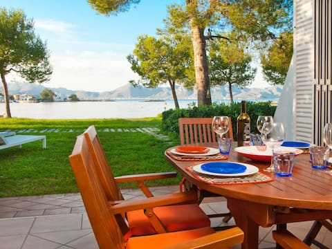 Barcares Breeze, Seafront villa with WIFI & aircon