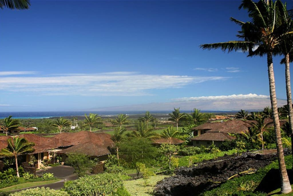 From lanai facing north