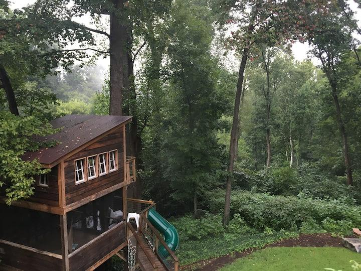 Treehouse Glamping Virginia