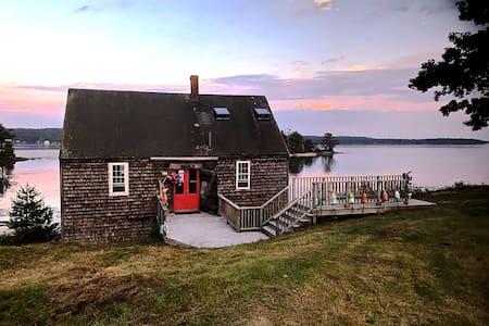 |  Westport Island Stilt House  |