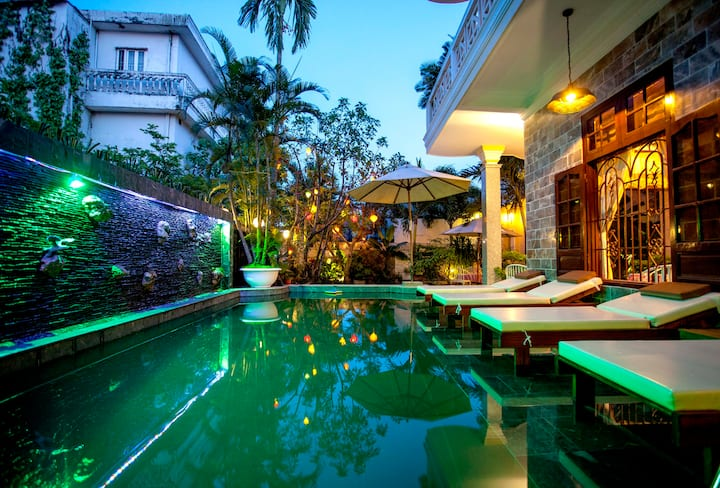 Superior Twin room with Breakfast- Ngan Phu Villa