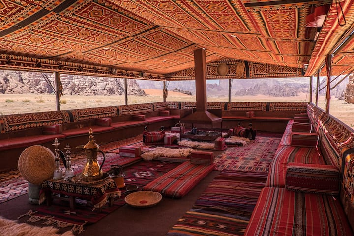 Arabian Nights Traditional Bedouin Family Tent