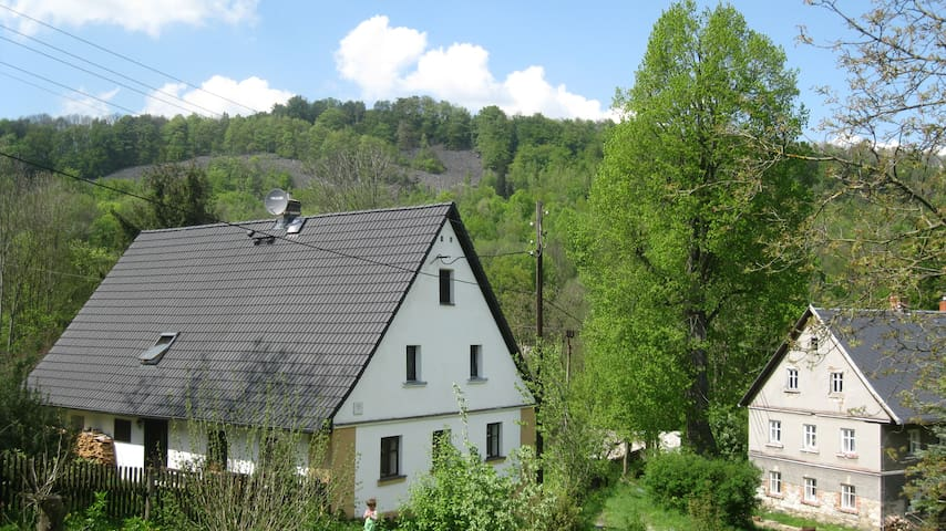 Room in beautiful village in the middle of nature - Merboltice - House