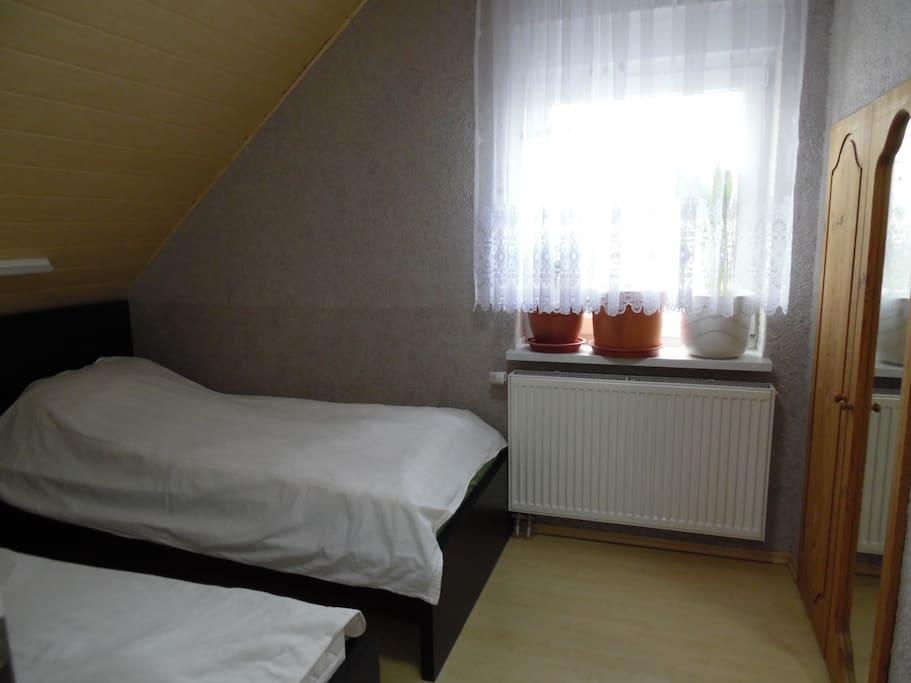 Schlafzimmer Einzelbetten (Kinder)