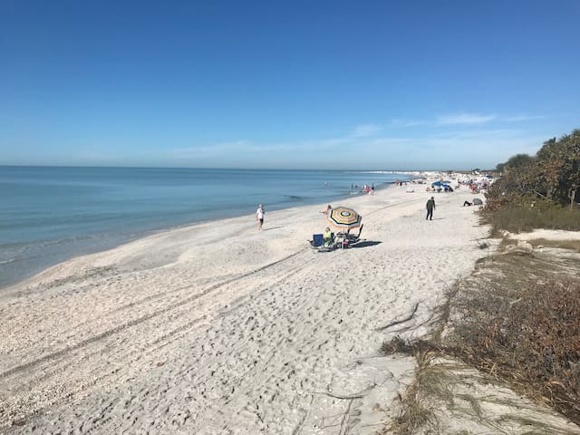 Beach Time on Lido Key 5th house off the beach