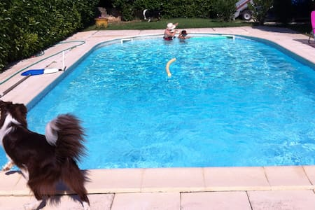 Villa vacance avec piscine près du Pont du Gard - Remoulins - Villa