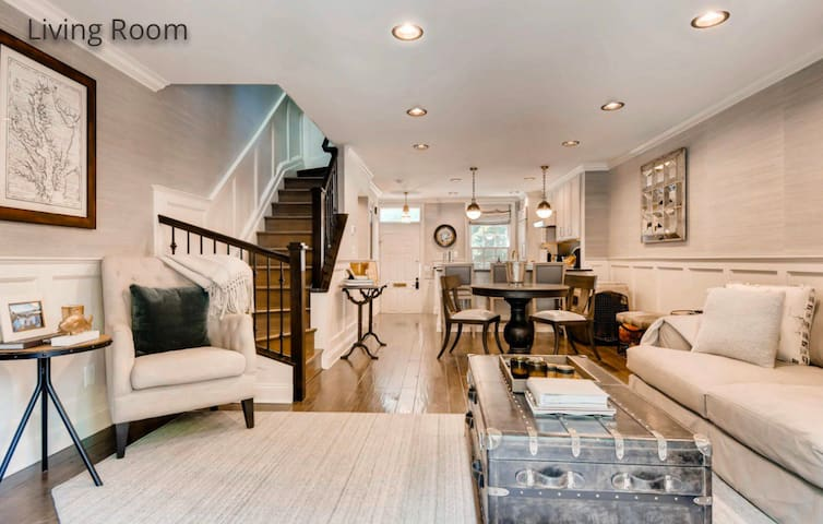 Custom designer townhome in the heart of Canton.