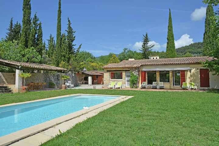Spacious Villa with Private Pool in Fayence