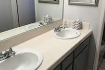 Full private bathroom