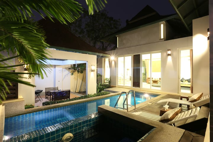 AnB pool villa with Cozy2BR close to Jomtien beach