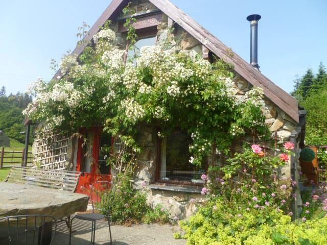 Cottage Dolgellau (sleeps 8) with hot tub
