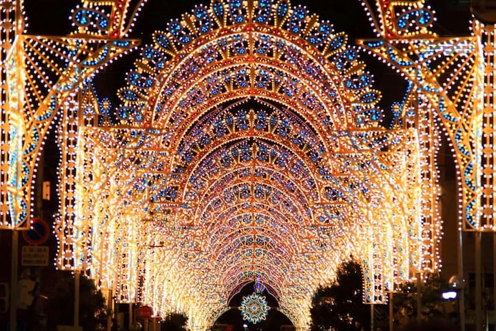 Kobe luminarie will be held on 8th~17th Dec.