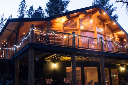 Lovely Log Cabin near Fernie, B.C. - East Kootenay B - Srub