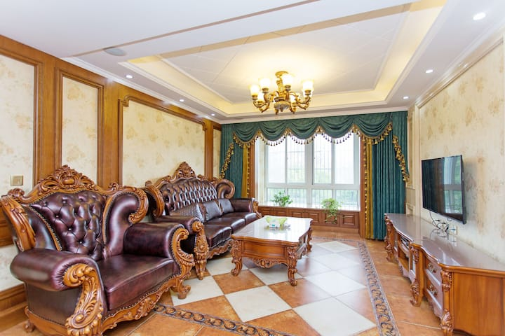 方特欢乐世界大三房135平大美式风格感受不一样风情