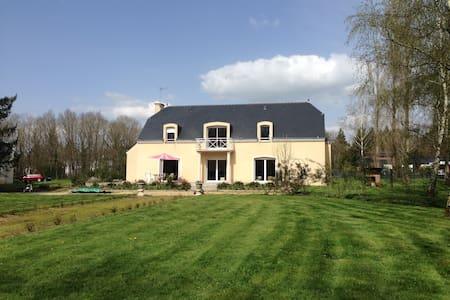 Villa avec sauna et piscine privés - Plesse - Villa