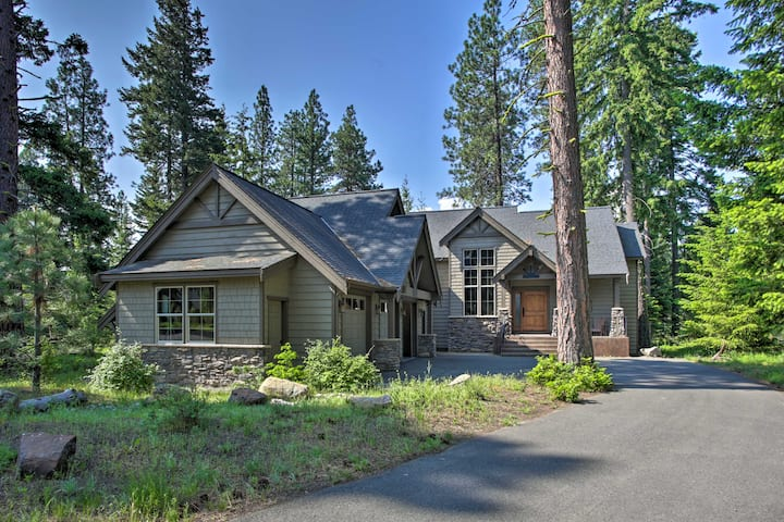 Large '7th Heaven Lodge' on Suncadia Golf Course!