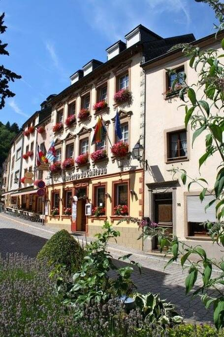 Auberge du chateau doppelzimmer chambres d 39 h tes for Chambre d hote luxembourg
