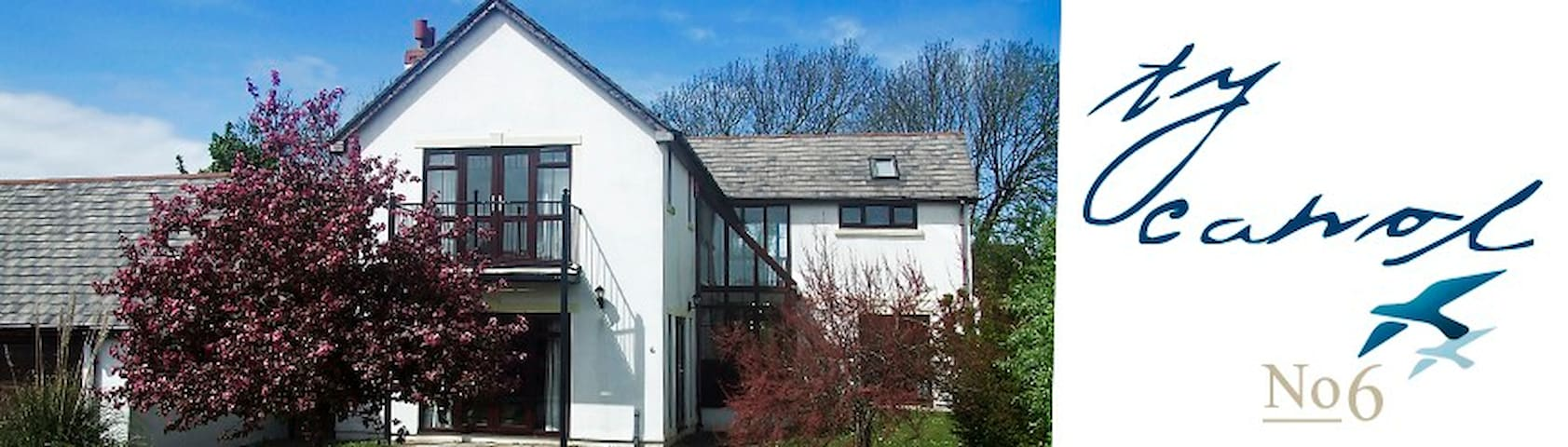 Beach house on the beautiful Gower peninsular - Llangennith