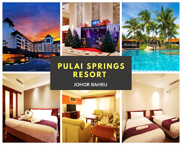 Resort Apartment ♛Pool View ♛ Pulai Springs Resort