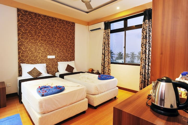 Sea view Twin Rooms