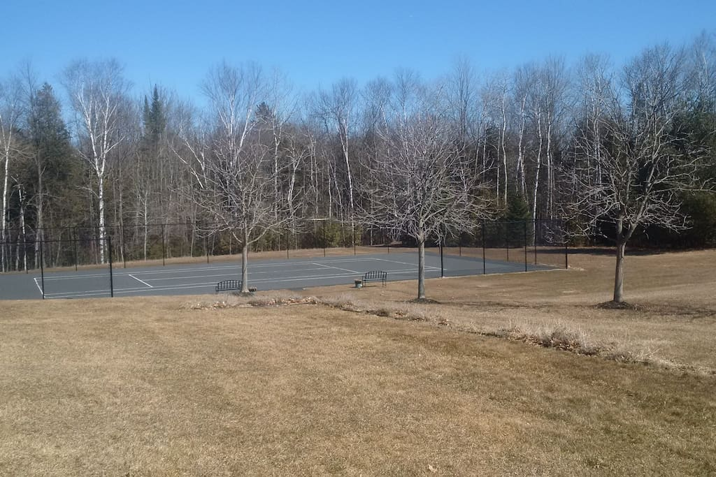 Newly added Tennis Court