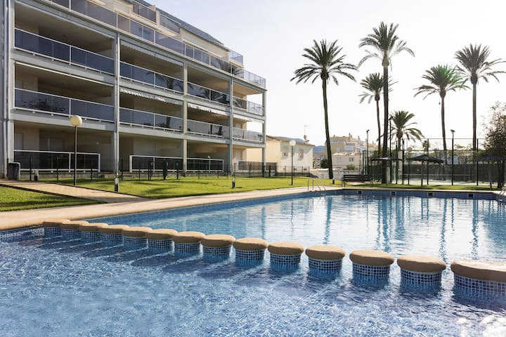 Fantastic penthouse 50 meters from the beach.