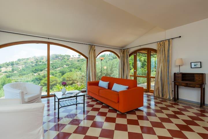 Natursteinvilla mit Meerblick Casa Filomena