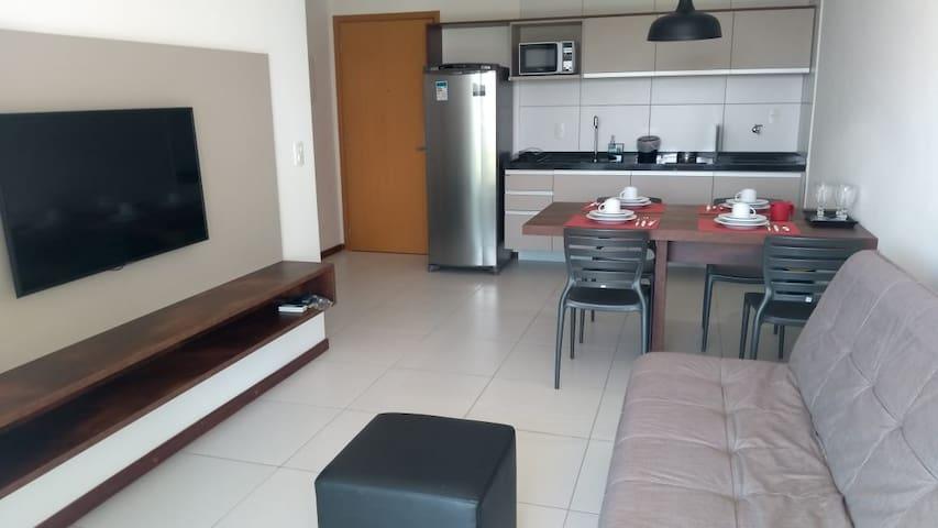 Ótimo apartamento em RESORT NA BARRA DE SÃO MIGUEL