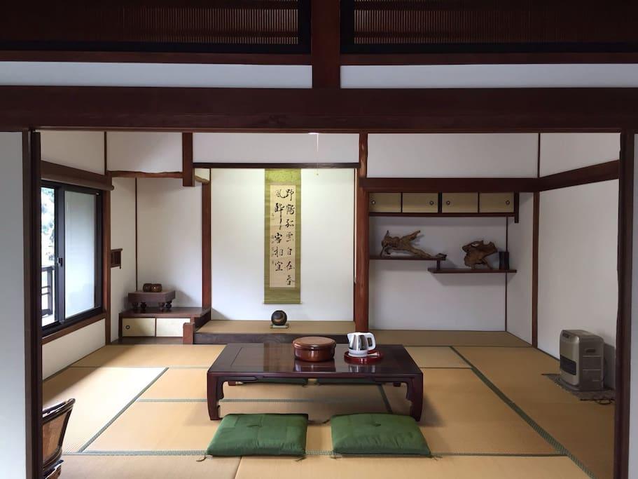 2階 畳の間  2F Tatami room