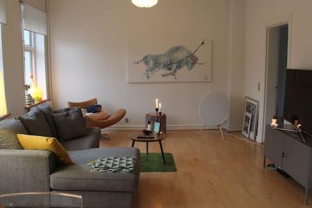 Lækker lejlighed midt i hjertet af Silkeborg! - Silkeborg - Квартира