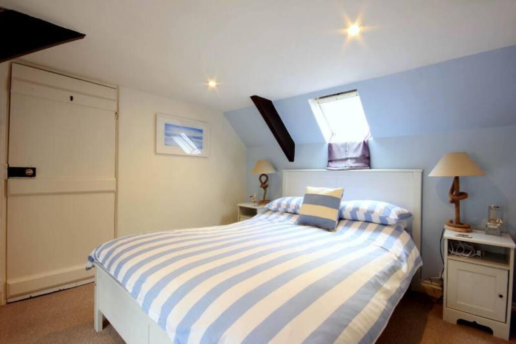 Top floor cottage bedroom