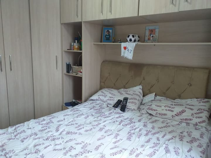 Alugo apartamento total com 2 quartos ou 1 quarto