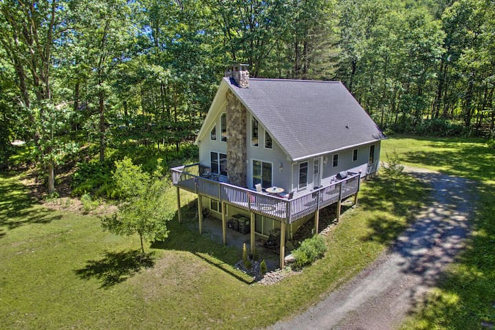 2BR Callicoon House on Delaware River!