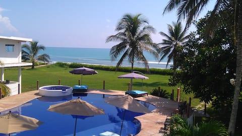 Villa/Depto con vista al mar Costa Esmeralda