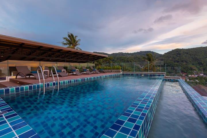Kata Sea View Resort - Deluxe Mountain View