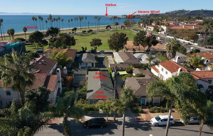 Ocean Views: Steps to Sand:2 bedroom fenced yard