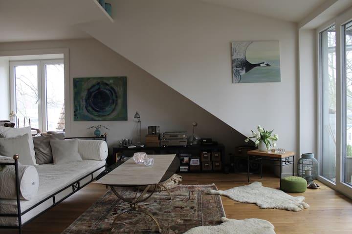 Wunderschöne & gemütliche Wohnung - Ahrensburg - Apartment