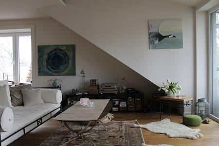 Wunderschöne & gemütliche Wohnung - Ahrensburg - Apartamento